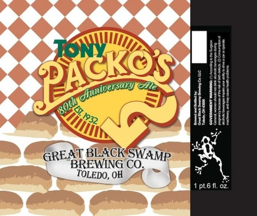 Great Black Swamp: Tony Packo's 80th Anniversary Ale