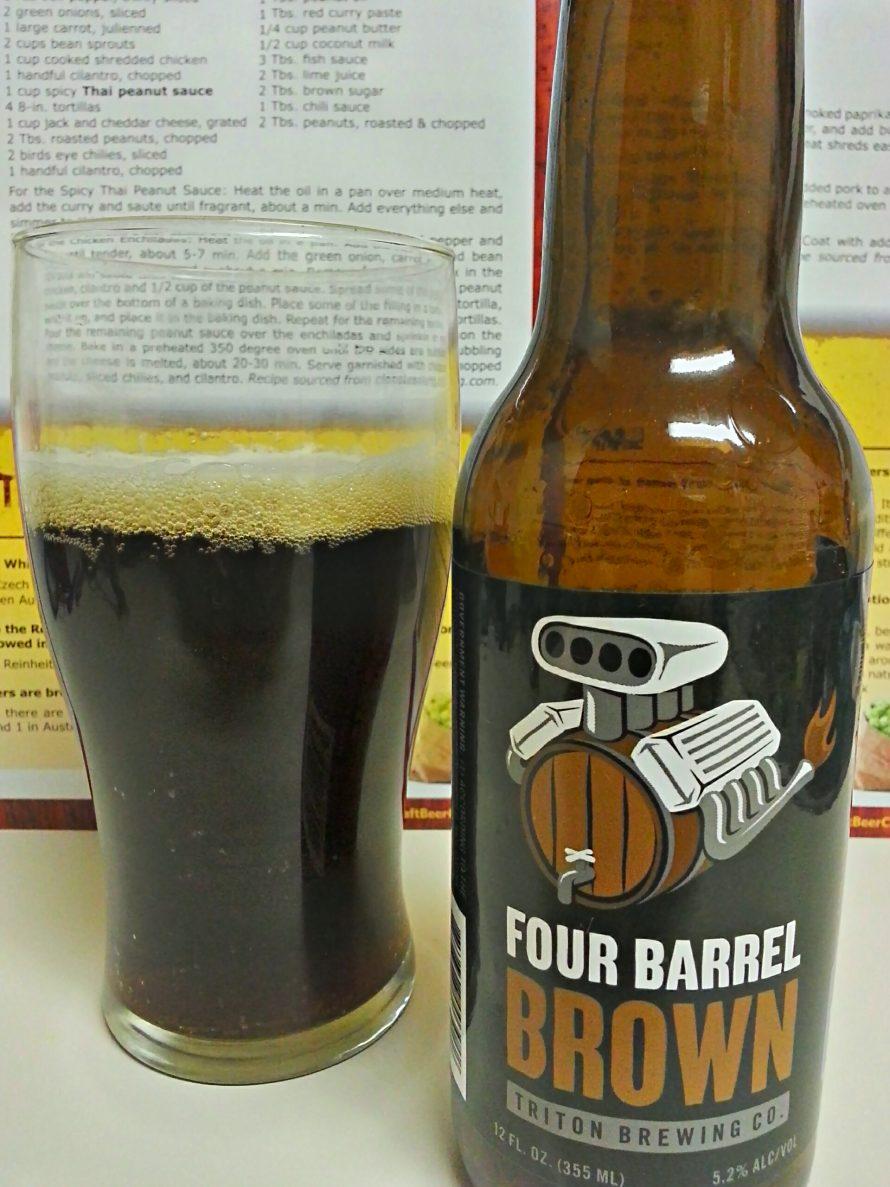 Triton Brewing: Four Barrel Brown
