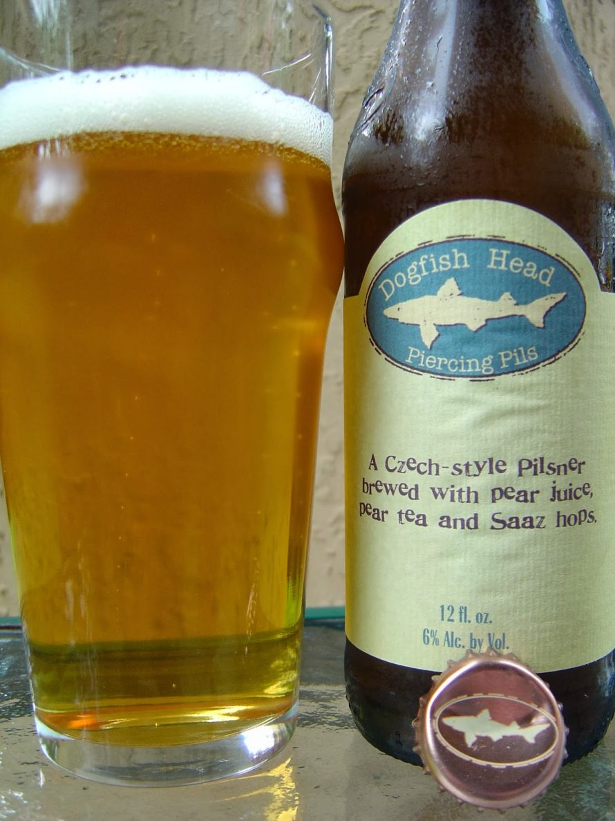 Dogfish Head: Piercing Pils