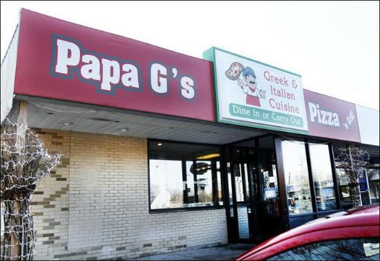 Reuben #1 – Papa G's Pizza N' Grill