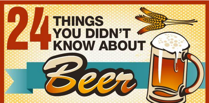 24 Things You Didn't Know About Beer [Infographic]