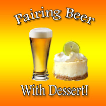 beer and dessert