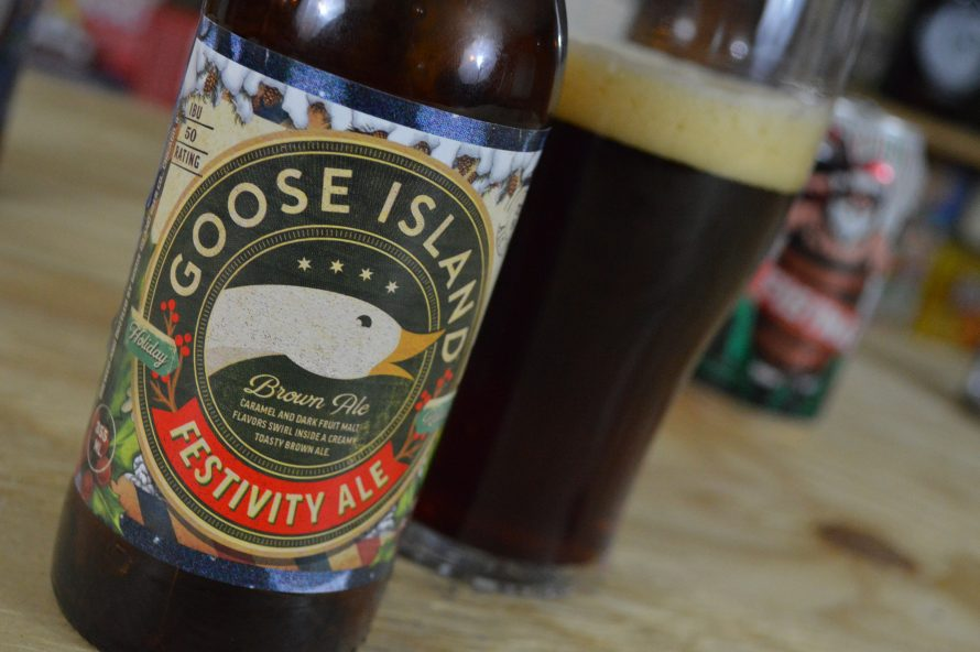 Festivity Ale – Goose Island – 25 Days of Beers and Cheers – Dec. 3rd