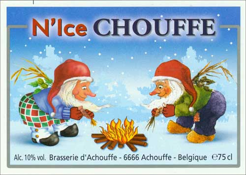 N'Ice Chouffe – Brasserie D'achouffe – 25 Days of Beers & Cheers 12/20