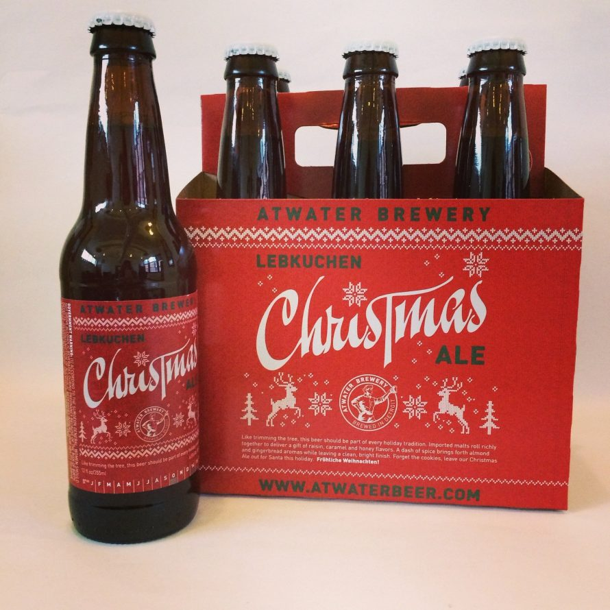 Lebkuchen Christmas Ale – Atwater Brewing – 25 Days of Beers & Cheers 12/14