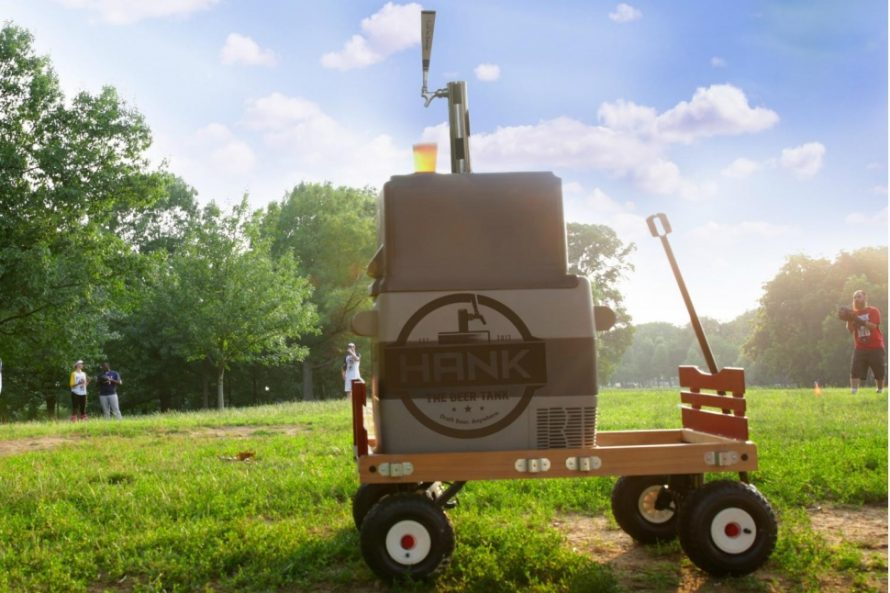 Hank the Beer Tank – The Ultimate Portable Kegerator for Draft Beer Anywhere.