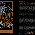 "Stone Brewing Introduces ""Stone Americano Stout"""