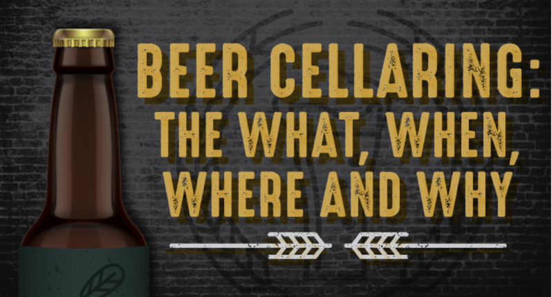 How to Cellar Age Beer [infographic]