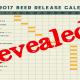 Bell's 2017 Beer Release Calendar