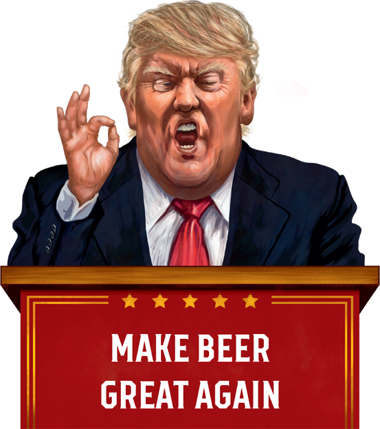 Commander in Craft – How Trump Has Left a Mark on Craft Beer