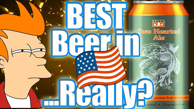 Is TWO HEARTED Really the BEST Beer in the US?