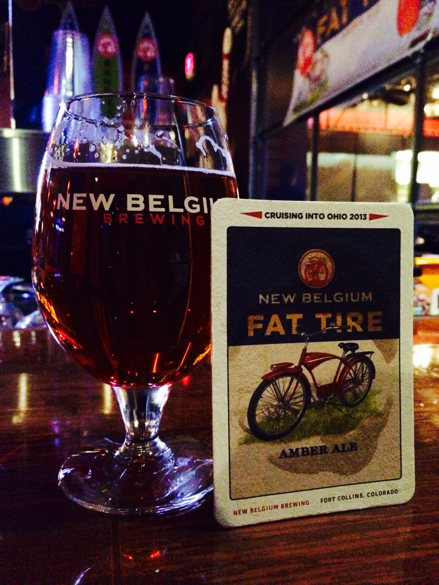 New Belgium: Fat Tire Amber Ale - The Brew Review Crew