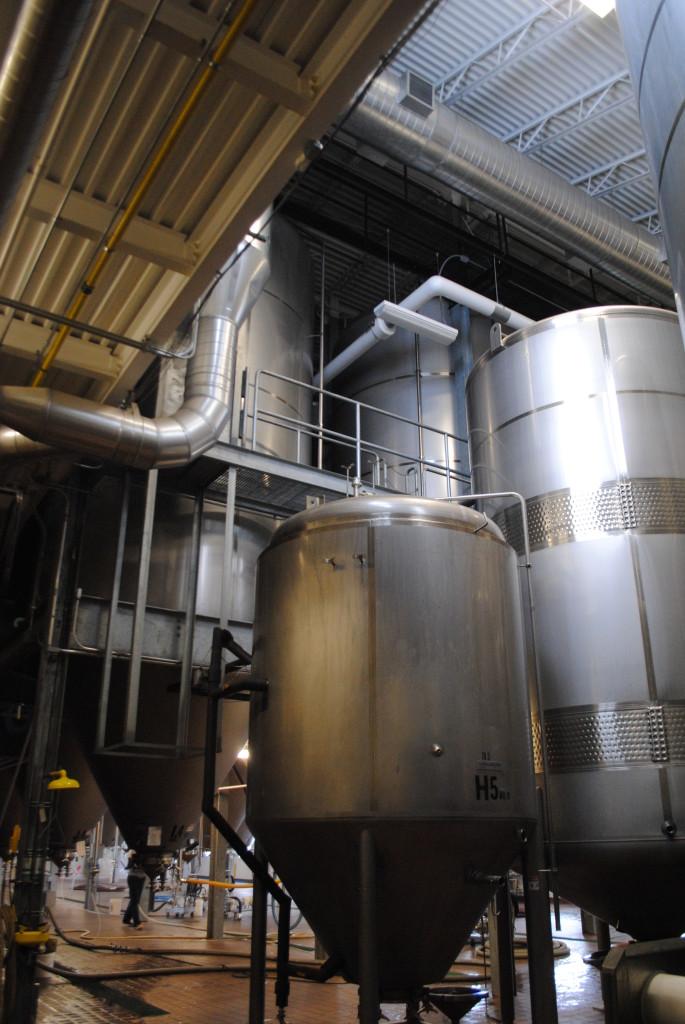 A 40 Barrel Fermenter vs. a 200 Barrel Fermenter