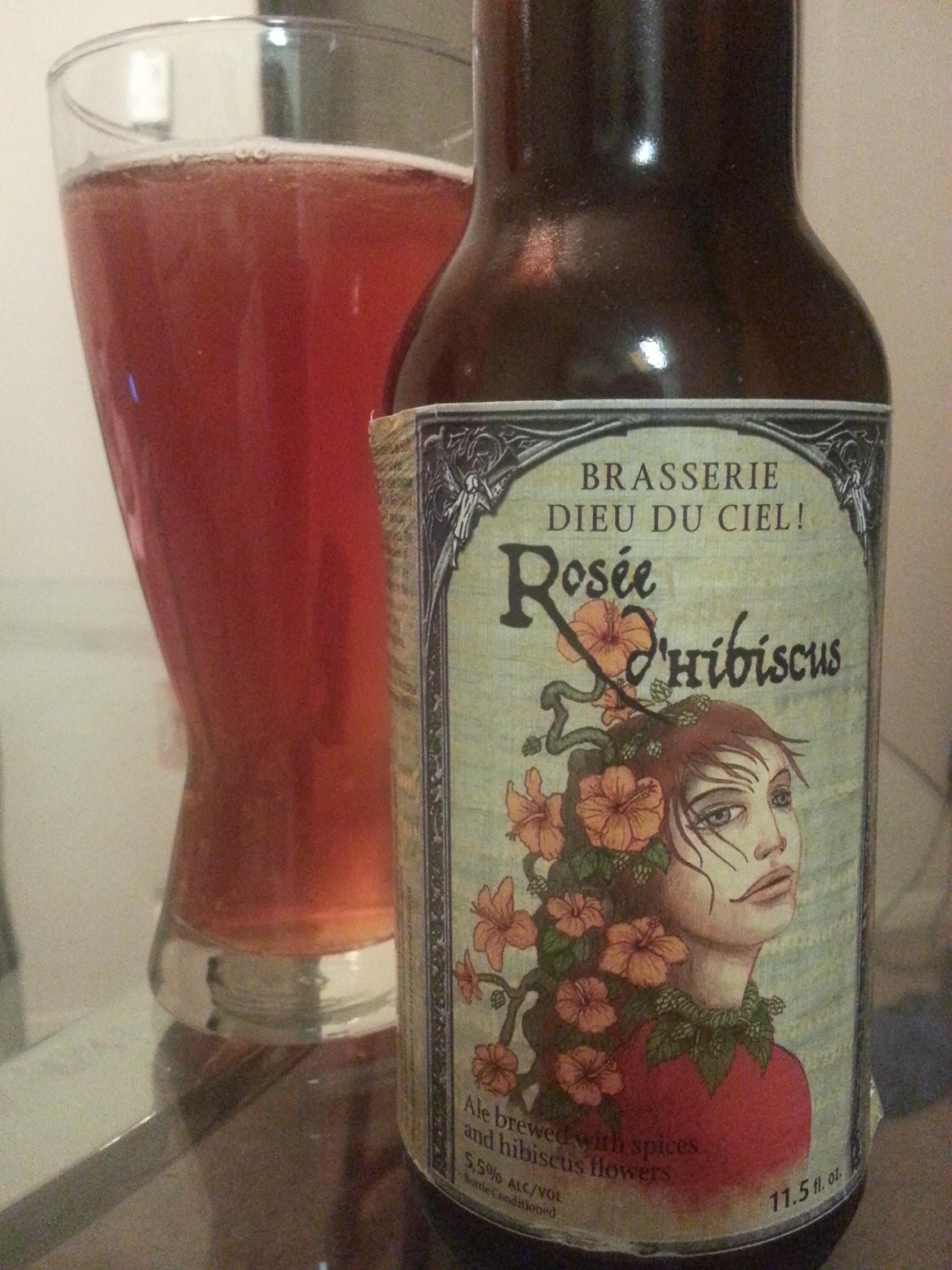 Hibiscus beer