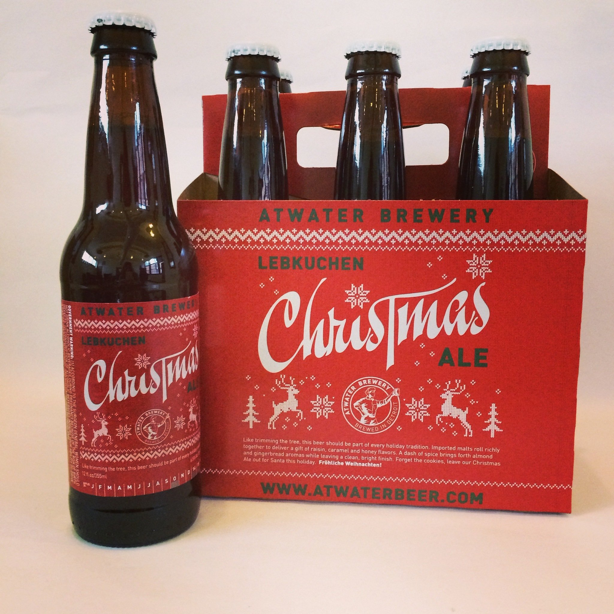Christmas Ale.Lebkuchen Christmas Ale Atwater Brewing 25 Days Of Beers