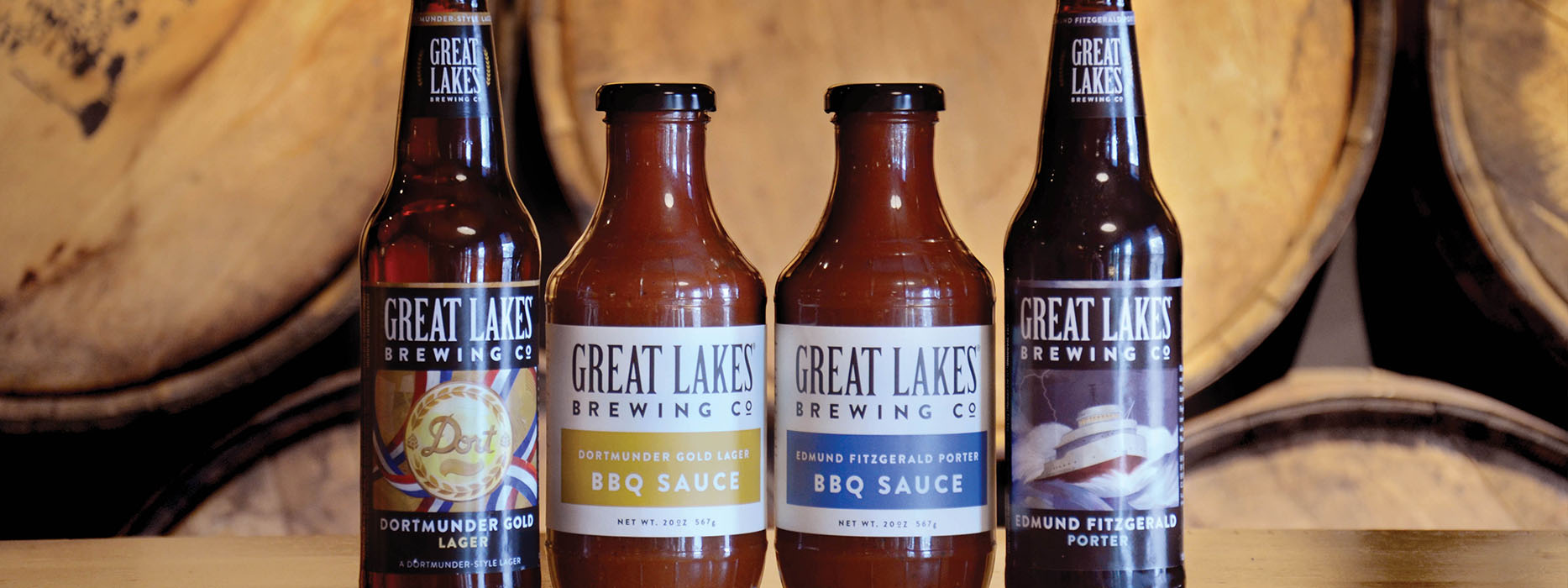 BBQ sauces are proprietary recipes inspired by the beer-infused sauces ...